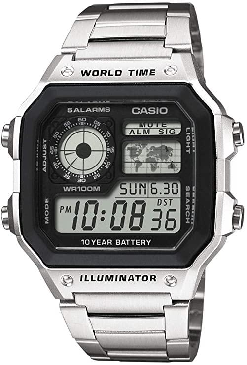 relojes digitales hombre