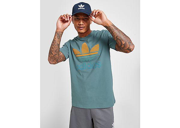adidas Originals Camiseta Trefoil Ombré