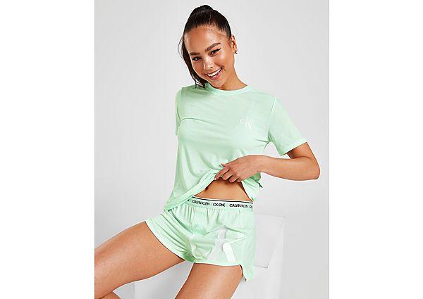 Calvin Klein Underwear conjunto camiseta/pantalón corto CK One Lounge