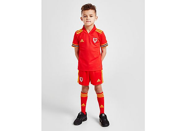 adidas conjunto selección de Gales 2020 1.ª equipación infantil