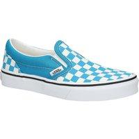 Vans Classic Checkerboard Slip-Ons azul