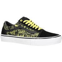 Vans X Spongebob Skate Old Skool Skate Shoes amarillo