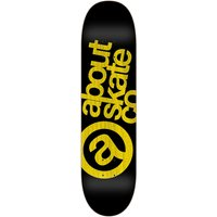 "About Monochrome 3Co 7.825"" Skateboard Deck amarillo"