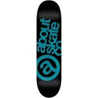 "About Monochrome 3Co 8.125"" Skateboard Deck azul"