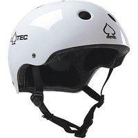 PRO-TEC Classic Certified Helmet blanco