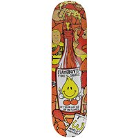"World Industries Hot Sauce 7.75"" Skateboard Deck estampado"