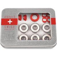 Andale Bearings Swiss Tin Box Bearings rojo