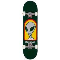 """Alien Workshop Believe 7.75"""" Complete verde"""