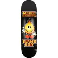 "World Industries Solid Gold Flameboy 8.3"" Skateboard Deck estampado"
