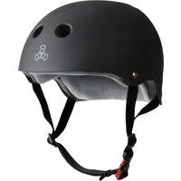 Triple 8 Dual Certified Sweatsaver Helmet negro