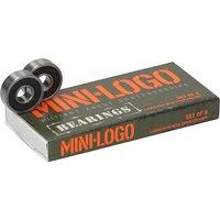 Mini Logo 608ZRS Series 3 Bearings negro