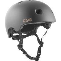 TSG Meta Solid Color Helmet negro