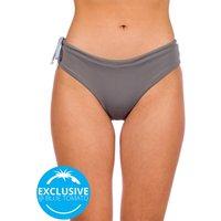 Zealous Basic Surf Bottom Bikini Bottom gris