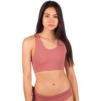 Zealous Dawn Patrol Surf Top Bikini Top rosado