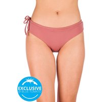 Zealous Basic Surf Bottom Bikini Bottom rosado