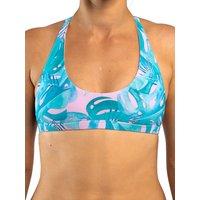 Zealous Signature Surf Bikini Top estampado