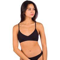 Rip Curl Modern Rib Recycled Bra Bikini Top negro