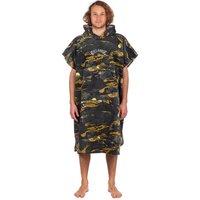 Billabong Hoodie Surf Poncho camuflaje