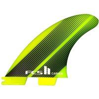FCS II Carver Neo Glass Medium Tri Fin verde