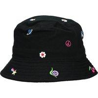 A.Lab Icon Embroidered Bucket Hat estampado