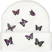 A.Lab Ellison Butterfly Beanie blanco