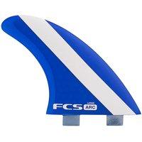 FCS Arc Large Pc Tri-Quad Retail Fins estampado