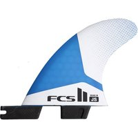 FCS 2 Js Pc Medium Tri-Quad Retail Fins estampado