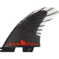 FCS II Acceleratr PC Cbn M Tri Retail Fin Set rojo