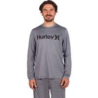 Hurley One & Only Hybrid Longlseeve Lycra gris
