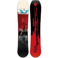 YES Hybrid 161 2021 Snowboard rojo