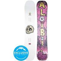 Alibi Snowboards Feast 158W 2021 Snowboard blanco