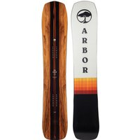 Arbor A-Frame 165MW 2022 Snowboard estampado