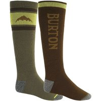 Burton Weekend Midweight 2Pk Tech Socks estampado