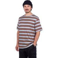 Zine Bonus Stripe T-Shirt gris