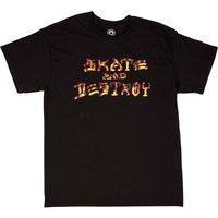 Thrasher Skate And Destroy BBQ T-Shirt negro