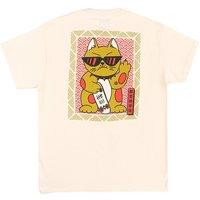 A.Lab Feline Lucky T-Shirt blanco