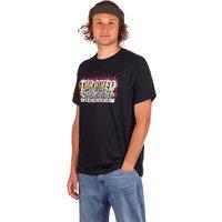 Thrasher Krak Skulls T-Shirt negro