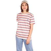 Rip Curl Cali Standard YD Stripe T-Shirt blanco