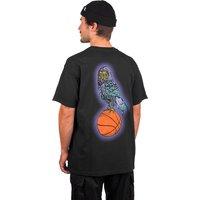 Welcome Hooter Shooter Garment Dyed T-Shirt negro