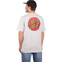 Santa Cruz Classic Dot Chest T-Shirt gris