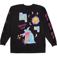 A.Lab Wizard Club Longsleeve T-Shirt negro