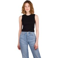 Afends Dalston Tank Top negro