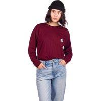 Carhartt WIP Pocket Long Sleeve T-Shirt rojo