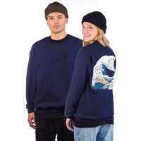RIPNDIP Great Wave Sweater azul