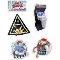 HUF Street Fighter II Set Sticker estampado