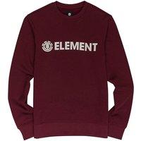 Element Blazin Crew Sweater rojo