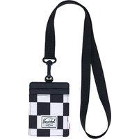 Herschel Charlie Lanyard RFID Wallet negro