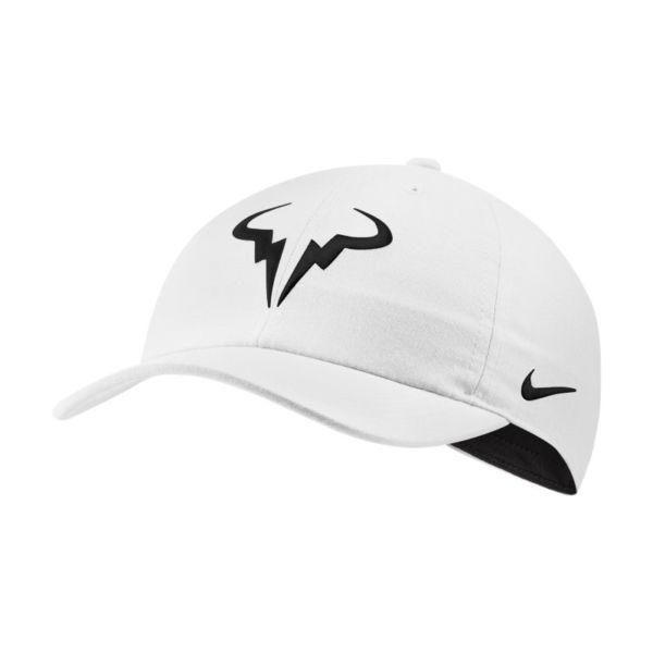 NikeCourt AeroBill Rafa Heritage86 Gorra de tenis - Blanco