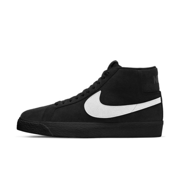 Nike SB Zoom Blazer Mid Zapatillas de skateboard - Negro