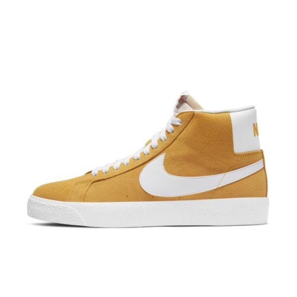 Nike SB Zoom Blazer Mid Zapatillas de skateboard - Amarillo